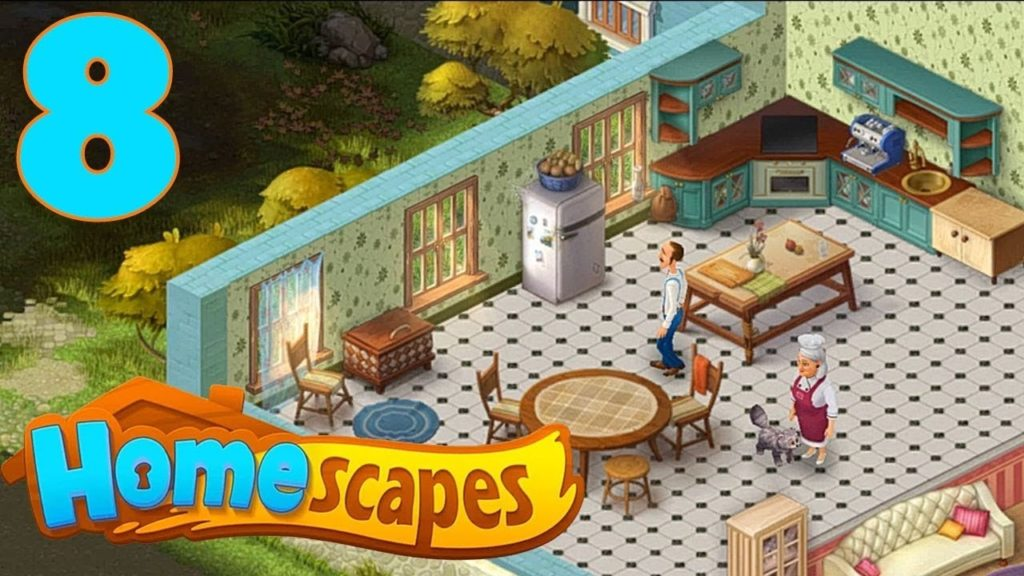 Download Homescapes For PC & IOS/Android