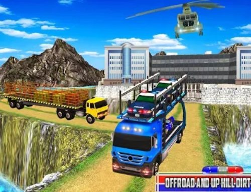 Free Download US Police Cargo Transport Vehicles For PC & Android